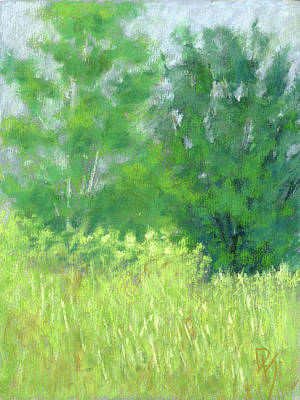 Mountain Painting - Parkway Trees by David King