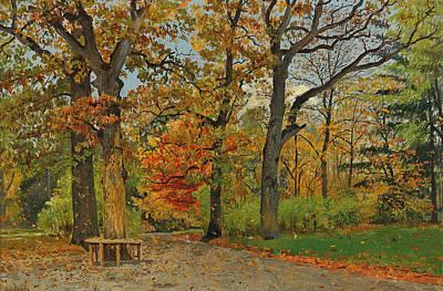 Painting - Parkweg by Karl Buchholz