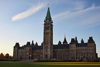 Photograph - Parliament Building Ottawa by Tatiana Travelways