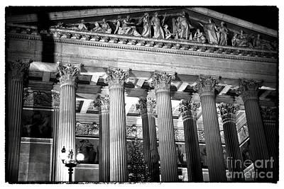 Photograph - Parliament Columns by John Rizzuto