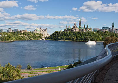 Photograph - Parliament Hill, Ottawa by Tatiana Travelways