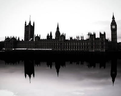 Shadows And Light Photograph - Parliament by Martin Newman
