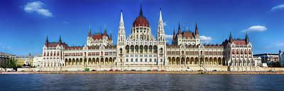 Photograph - Parliament Of Hungary by C H Apperson