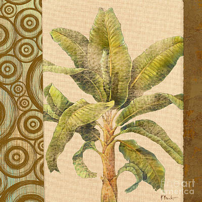 Parlor Painting - Parlor Palm I - Beige by Paul Brent