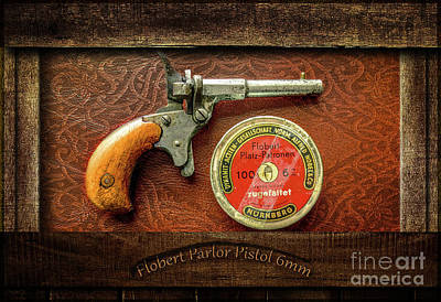 Photograph - Parlor Pistol by John Anderson