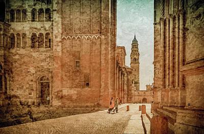 Photograph - Parma, Italy - Via Cardinal Ferrari by Mark Forte