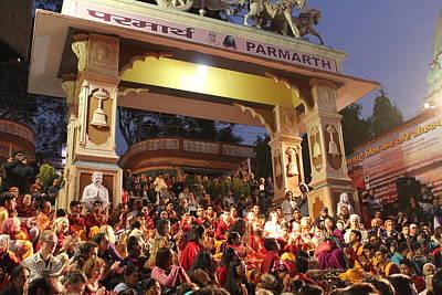 Puja Photograph - Parmarth Niketan, Rishikesh by Jennifer Mazzucco