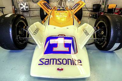 Photograph - Parnelli Chassis 1972 by Josh Williams