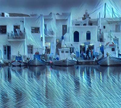 Photograph - Paros Island Beauty Greece by Colette V Hera Guggenheim