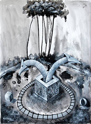 Parque De Diversion Art Print by Lorenzo Muriedas