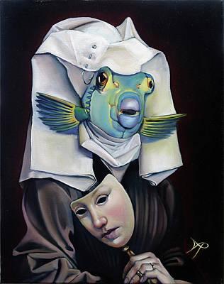 Parrishfish Art Print by Patrick Anthony Pierson