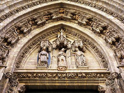 Photograph - Parroquia Del Sagrario Facade by John Rizzuto