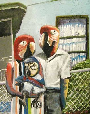 Parrot Heads Original