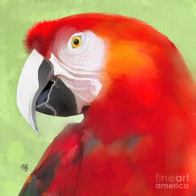 Painting - Parrot Life by Tammy Lee Bradley