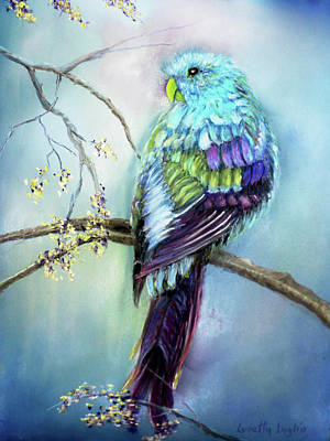 Painting - Parrot by Loretta Luglio