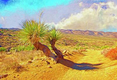 Digital Art - Parry Nolina Tree by Sandra Selle Rodriguez