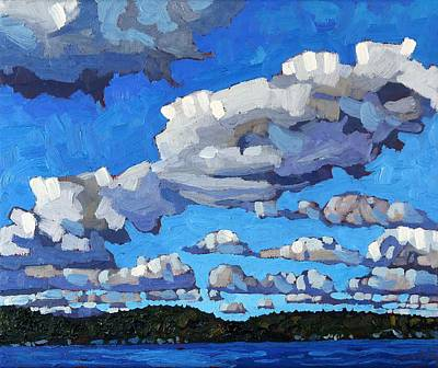 Parry Sound Cumulus Original by Phil Chadwick