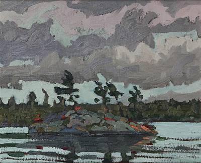 Parry Sound Island Art Print