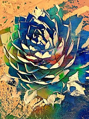 Digital Art - Parryl Agave Digital Paint by Tatiana Travelways