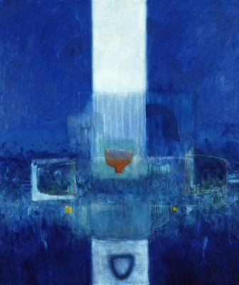 Abstract Cross Painting - Parsifal by Charlie Millar