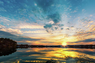 Photograph - Parsippany Lake by Mihai Andritoiu