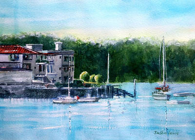Painting - Parsley Bay, Sydney, Australia by Debbie Lewis