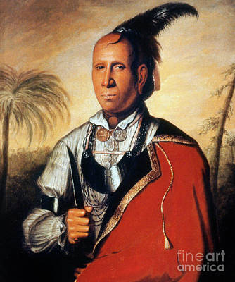 Painting - Parsons - Cherokee 1762 by Granger