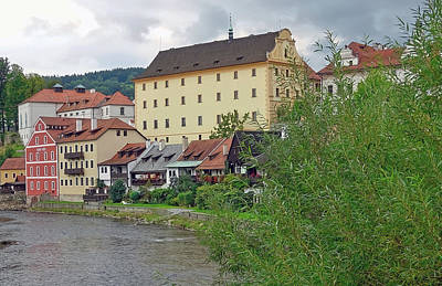 Photograph - Part Of Cesky Krumlov In The Czech Republic by Richard Rosenshein