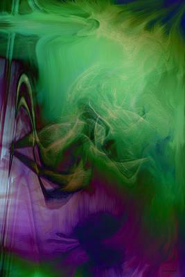 Part Of Rapture Art Print by Linda Sannuti