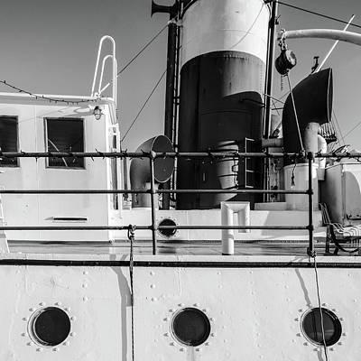 Sweden Digital Art - Part Of Ship by Tommytechno Sweden