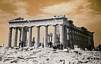 Photograph - Parthenon by Diana Angstadt