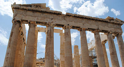 Photograph - Parthenon by Robert Moss