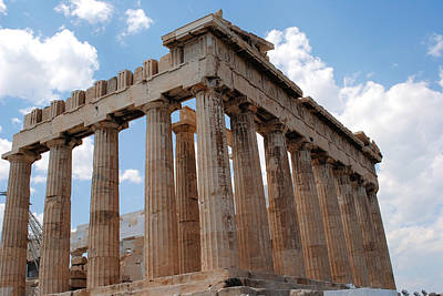 Photograph - Parthenon Side View by Robert Moss