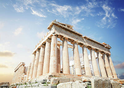 Photograph - Parthenon Temple II by Anastasy Yarmolovich