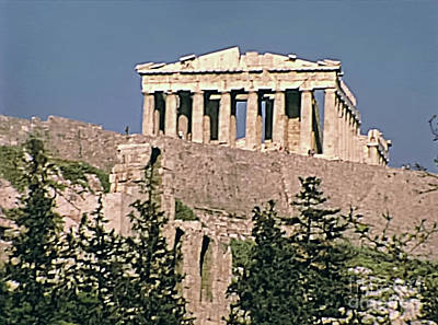 Photograph - Parthenon Temple Athens by Benny Marty