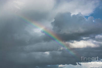 Photograph - Partial Rainbow by Cheryl Baxter