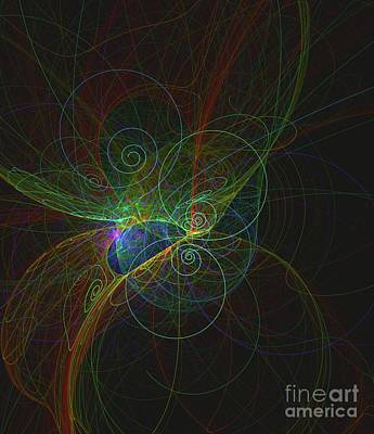 Science Fiction Royalty-Free and Rights-Managed Images - Particle Life by Raphael Terra