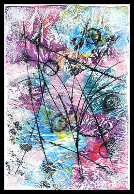 Mixed Media - Particle Shower Do-si-dos by Cyndi Lavin
