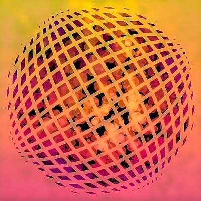 Digital Art - Particle Zoo by Susan Maxwell Schmidt
