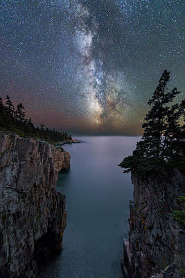 Photograph - Parting Of The Cliffs by Michael Blanchette