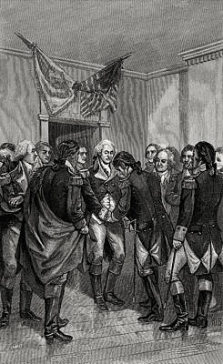 Photograph - Parting Of Washington And His Officers by Phil Cardamone