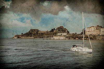 Photograph - Corfu, Greece - Parting View by Mark Forte