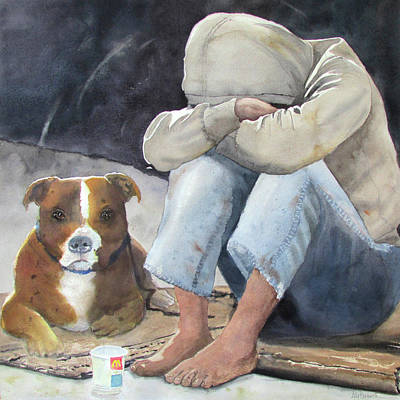 Painting - Partners by Ally Benbrook
