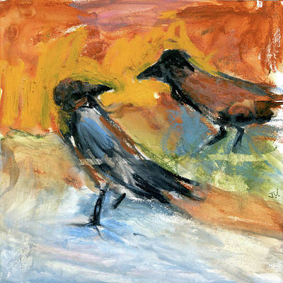 Painting - Partners In Crime by Jim Vance
