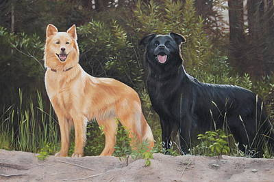 Painting - Partners by Tammy  Taylor