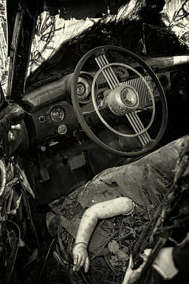 Photograph - Parts In Black And White by Greg Mimbs