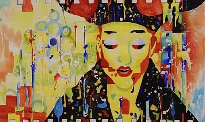 Party Girl Art Print by Cynthia Powell