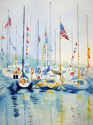 Painting - Party by Judy Fischer Walton