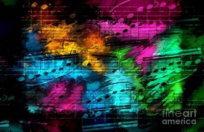 Digital Art - Party Partita by Lon Chaffin