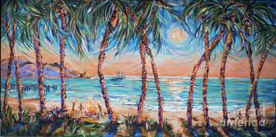 Painting - Party Til Dawn by Linda Olsen
